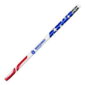 Promotional Patriotic Foil Pencil