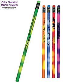 Promotional Mood Color Changing Pencil Colored Eraser
