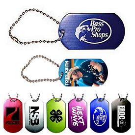 Promotional Dog Tag with Ball Chain