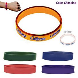 Promotional Sun Fun Sunlight Activated Bracelet (Full Wrap)