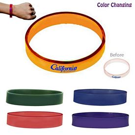 Promotional Sun Fun Sunlight Activated Bracelet (1-Sided)