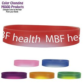 Promotional Color Changing Mood Bracelet (Full Wrap)