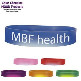 Promotional Color Changing Mood Bracelet (1-Side)