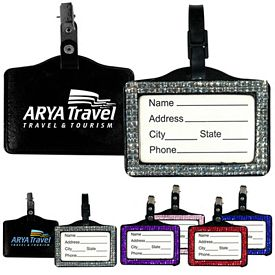 Promotional Bling ID Luggage Tag