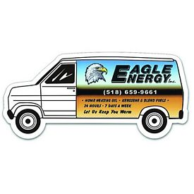 Promotional Full Color Delivery Van Magnet