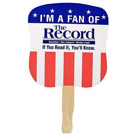 Promotional USA Patriotic Hand Fan