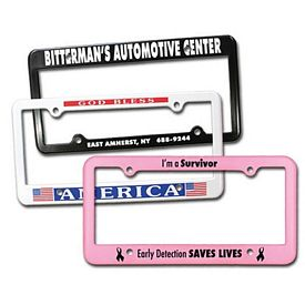 Promotional 4 Holes License Plate Frame