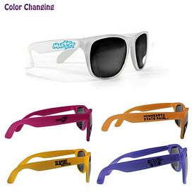 Promotional Sun Fun Sunlight Activated Sunglasses
