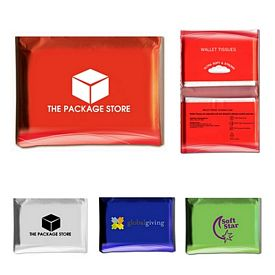 Promotional Walklet Sized Tissue Pack
