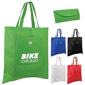 Promotional Non-Woven Fold 'n Go Tote Bag