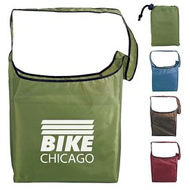 Promotional RPET Fold-Away Sling Bag