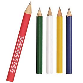 Promotional Round Mini Golf Pencils