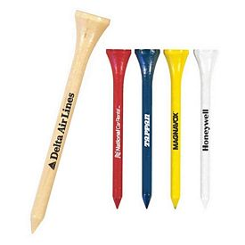 "Promotional 2-3/4"" Standard Golf Tees in Bulk"