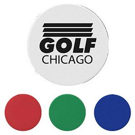 Promotional Plastic Green Golf Ball Marker