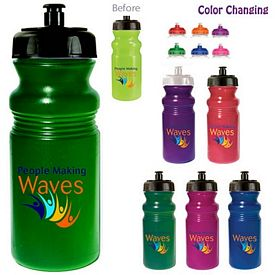 Promotional 20 oz. Sunfun Cycle Bottle