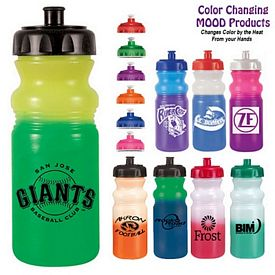 Promotional 20 oz. Color Changing Mood Water Bottle