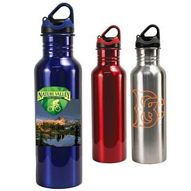 Promotional 24 oz. Stainless Steel Quest Bottle