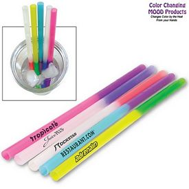 Promotional Color Changing Plastic Mood Straw
