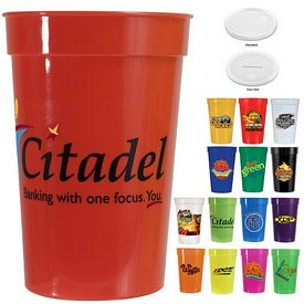 Promotional 17 oz. Smooth Stadium Cup
