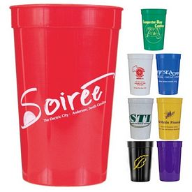 Promotional 22 oz. Smooth Stadium Cup