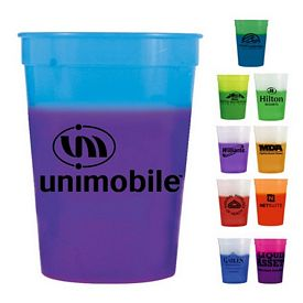 Promotional 12 oz. Mood Stadium Cup