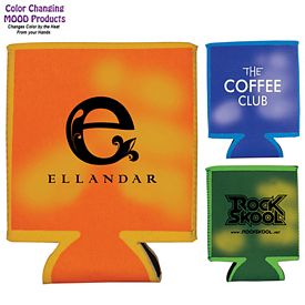 Promotional Mood Color Changing Pocket Can Cooler - CLOSEOUT ITEM