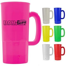Promotional 22 oz. Plastic Beer Stein