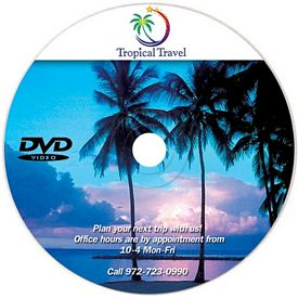 Promotional Empty Recordable DVD-R Disc