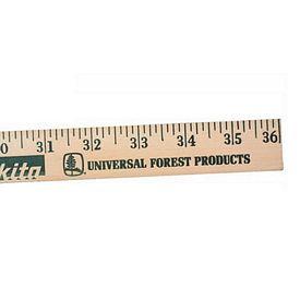 Promotional Best Selling 3 FT Natural Wood Yardstick