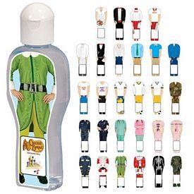 Promotional Dressed-Up Sanitizer Bottle