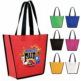 Promotional Non-Woven Fiesta Tote Bag Full Color Digital