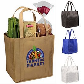 Promotional Non-Woven Tundra Tote Bag Full Color Digital