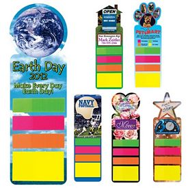 Promotional Full Color Digital Stickynote Bookmark