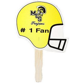 Promotional Football Shaped Hand Fan