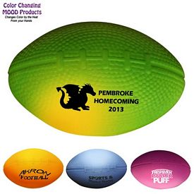 Promotional Mini Mood Color Changing Stress Football