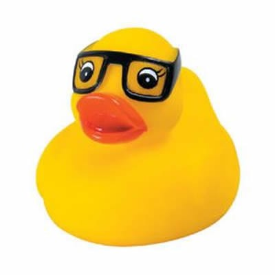 Promotional Rubber Study Duck