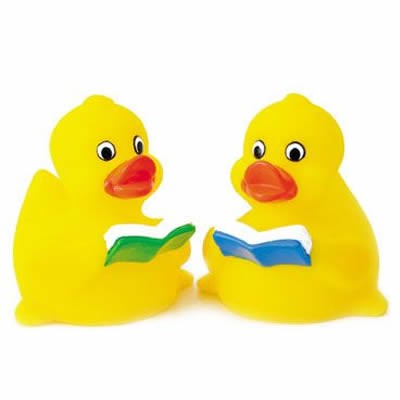 Customized Learning Rubber Duck Reading Duck