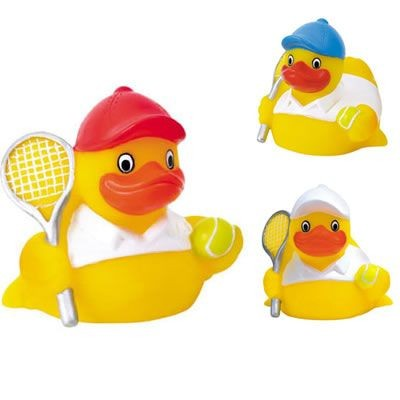 Custom Rubber Tennis Duck