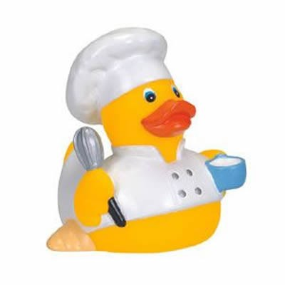 Promotional Rubber Cuisine Chef Duck