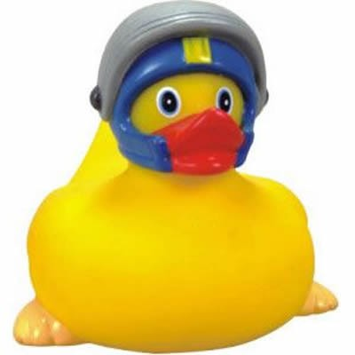 Customized Rubber Speed Racer Duck
