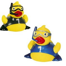 Custom Rubber Snorkeling Flipper Duck