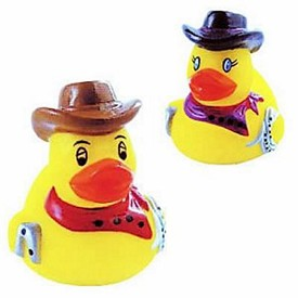 Customized Mini Rubber Rodeo Duck