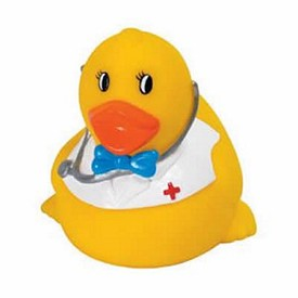 Custom Rubber Smart Doctor Duck