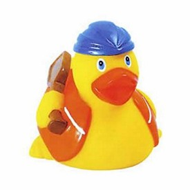 Promotional Rubber Aqua Duck Construction Worker Rubber Duck