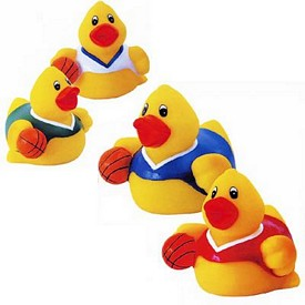 Promotional Rubber Basketball Duck