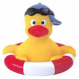 Promotional Rubber Bobbin Buddy Duck