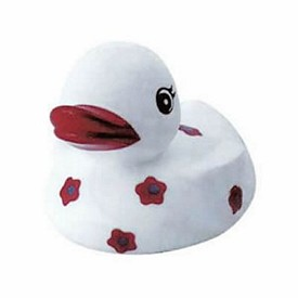 Promotional Rubber Blossoming Beauty Duck
