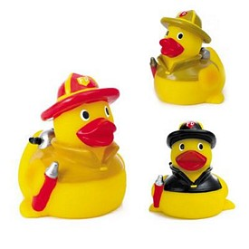 Promotional Rubber Fire Fighter Duck