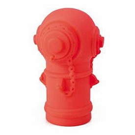 Promotional Rubber Fire Hydrant Bank