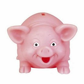 Promotional Rubber Piggy Bank